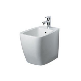 Ideal Standard Standbidet Ventuno T515001, weiß, B: 355, L: 560, 1 Hahnloch mittig durchgestochen