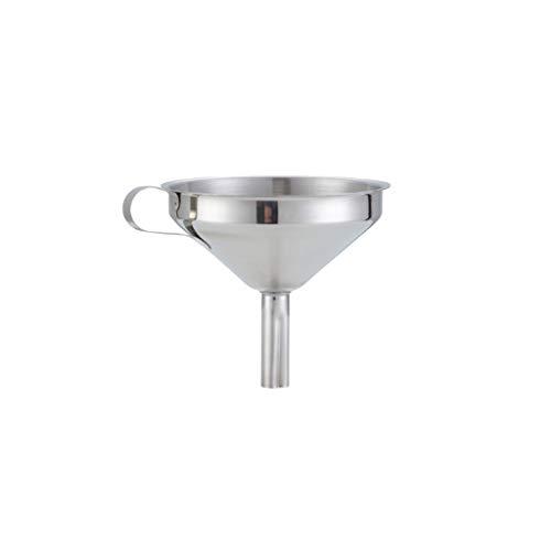 LMM HOME Imbuto in Acciaio Inossidabile con Filtro Grande Diametro Imbuto per Uso Domestico della Cucina Durevole (Dimensione : M)
