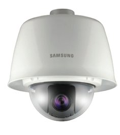 SS168 - SAMSUNG SNP-3120VH 12X ZOOM H.264 WDR VANDAL RESISTANT NETWORK POE PTZ DOME CAMERA W/ HEATED