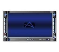 Audiovox VME 9122 TS DOP Din Autoradio Naviceiver 16,5 cm (6,5') Bluetooth Neu
