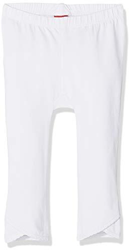 s.Oliver Baby-Mädchen Leggings 59.811.75.2733, Weiß (White 0100), 80