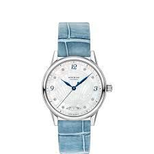 Montblanc Bohème Automatic Date¢- 34¢mm madre perla e diamanti