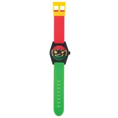Beatnuts Neff 134 Daily Sucker Watch / Armbanduhr, rasta - grün/gelb/rot