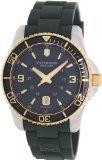 Victorinox 241606 - Reloj para hombres, correa de goma color verde