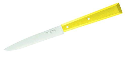 Opinel Couteau de Table Celeste Bon Appétit Poignée Jaune, Bleu, M