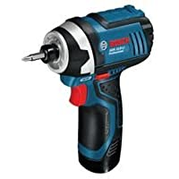 Advanced BOSCH - GDR108VLI - IMPACT DRIVER, 10.8V, 2X 2.0AH BATTERIES --