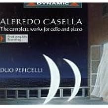 Casella: Complete Works for Cello & Piano by Duo Pepicelli