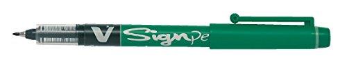 Pilot Sign Pen V, Liquid Ink 2,00 mm Spitze, Grün, 12 Stück Vsp-serie