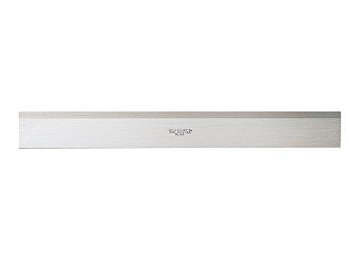Starrett 385-24 Steel Straight Edge With Bevel, 24
