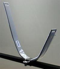 Eckla Stahl Ovalbügel für Auto Dachträger Pulverbeschichtet