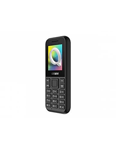 """Oferta de Alcatel 1066D - Telefono móvil de fácil uso, Pantalla de 1.8"""" QQVGA, 2G, cámara trasera CIF, 4MB de RAM, 4MB de ROM, batería 400mAh (Negro)"""