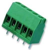 TERMINAL BLOCK, WIRE TO BRD, 4POS, 16AWG 282834-4 By TE CONNECTIVITY / BUCHANAN
