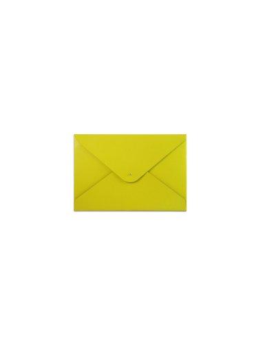 paperthinks-carpeta-de-piel-reciclada-19-x-12-cm-diseo-con-aspecto-de-sobre-color-amarillo