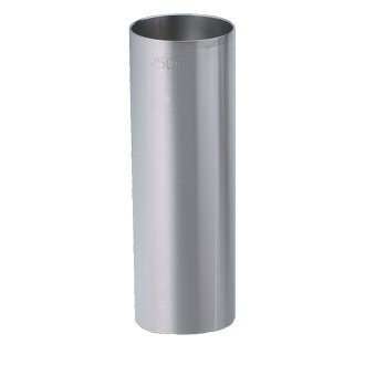 Edelstahl Messbecher Maßnahmen, 250 ml, CE gestempelt