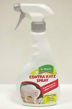 Dr. Stähler 002004 Contra Katz, 500 ml Sprühflaschen zum Fernhalten von Katzen, Kaninichen und Hunden