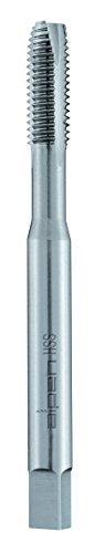 alpen 70900400100 HSS Maschinen-Gewindebohrer, gerade genutet, DIN 371 B, Schälanschnitt, ∅ M 4 mm, L1 63 mm, L2 13 mm