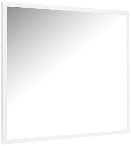 Studio Decor Cabra Espejo de Pared, Madera, Blanco, 75 x 90 x 2 cm