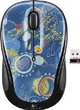 Logitech M325 Wireless Optical Mouse - Blue Sky(US Version, importiert) (Logitech Mouse Optical Mini)