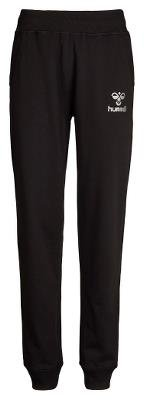 Hummel CLASSIC BEE SWEAT PANTS / Größe: 16 / Farbe: BLACK (Poly Hose Damen Micro)