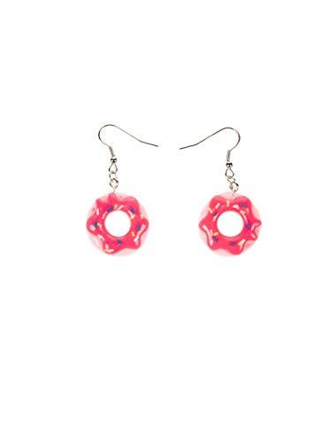 Ohrringe Candy Donut pink Keine Größe
