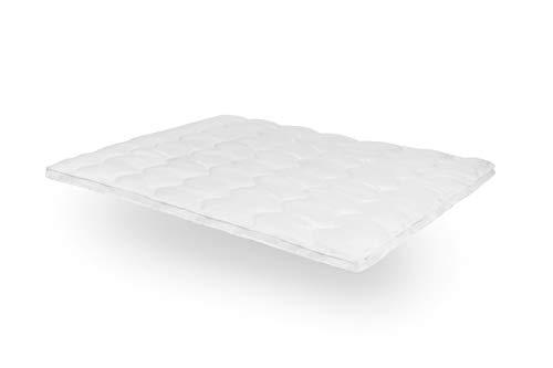 SLEEPMED 3D Air Hotel Top, Polyester Matratzenauflage, weiß, 80 x 200 cm - Queen 2 Memory-schaum