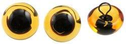 Efco - Tieraugen 8 mm 4 Stk. gelb Verkaufseinheit = 1 Beutel