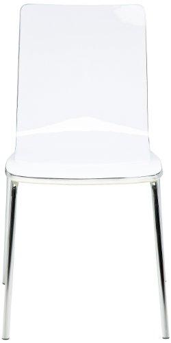 Kare design - Chaise dimensionale blanc