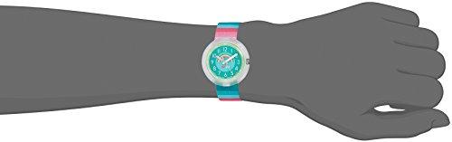Flik Flak Mädchen Analog Quarz Uhr mit Stoff Armband FPNP014 - 4