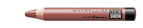 Maybelline Color Drama Lippen-Stift Nr. 630 Nude Perfection, Lippenstift in Stiftform, satte,...