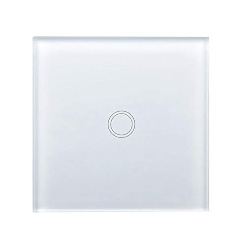 Haobing Interruptores de luz con indicador LED UK/EU Interruptor de Pared de...