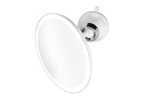 Medisana CM 850 - Kosmetikspiegel mit LED-Beleuchtung - Schminkspiegel mit starkem Saugnapf - 19 cm...