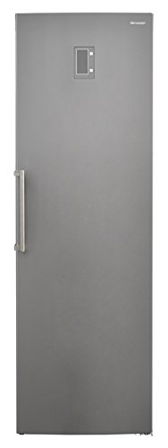 Sharp SJ-S2251E0I-EU Gefrierschrank / A++ / 186.8 cm / 241 kWh/Jahr / 251 L Gefrierteil / No Frost Kühlungssystem / AntiFingerprint / edelstahl