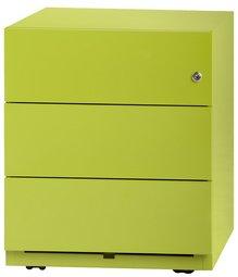 Grüner Universalschrank von Bisley mit Rollcontainer
