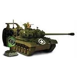 Torro 1112424581–Tanque RC teledirigido M26Pershing, 6mm