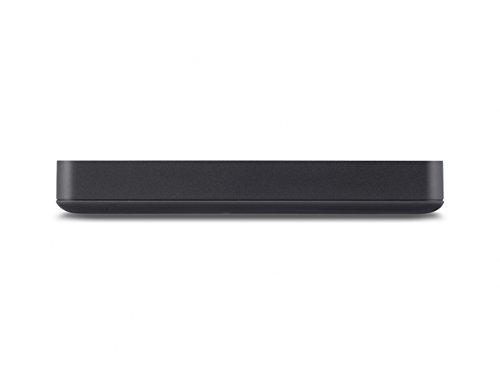 Buffalo HD-PGD1.0U3-EU MiniStation externe Festplatte (DDR-Cache-Speicher 1TB, 6,4 cm (2,5 Zoll), 5400rpm, 8MB Cache, USB 3.0) schwarz
