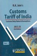 Customs Tariff of India 2017-18 In 2 Vols