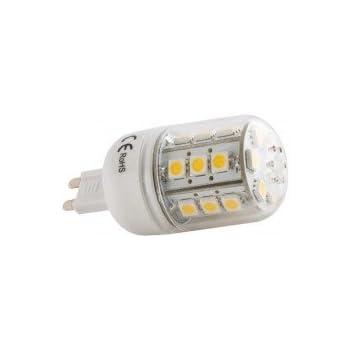 G9 LED 5W 24 LED 5050 SMD LED Light Bulb Cool / Daylight White 6000k ...