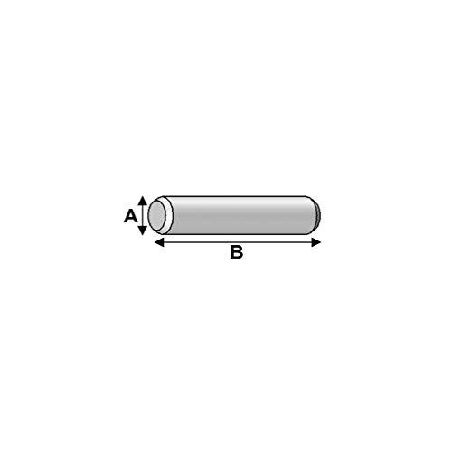 Alsafix - 100 goupilles D. 10 x 120 mm - AL-GOU10120 - Alsafix