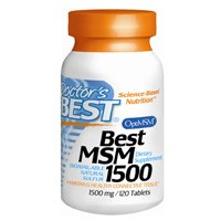 Doctor's Best MSM 1500 1,500mg, 120 Tablets from Doctor's Best