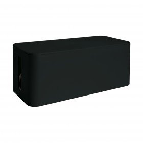 MediaRange Kabelbox, medium, 318x126x135mm, schwarz