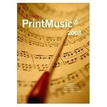 PrintMusic 2008