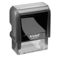 Trodat–Text Printy 4912Stempel ohne Logo