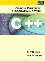 Object Oriented Programming With C++ (Old Edition)