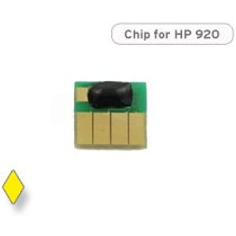 Chip per HP 920, CH 636 AE cartuccia Giallo / Yellow