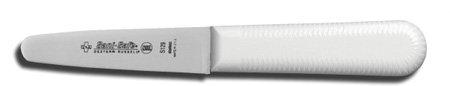 Sani-Safe Clam Messer, weißer Griff, 9,5 mm -