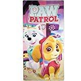 Nickelodeon Paw Patrol Kinder Kids Mädchen Skye Everest Bad Strandtuch 83% Baumwolle und 17% Polyester 70 x 140 cm – New 2018 fuchsia