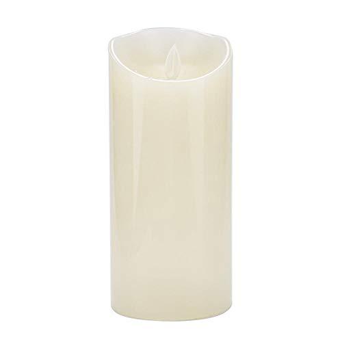 koulate Mini batteriebetriebene flammenlose Kerzen, Säulen-helles flackerndes Inneneinrichtungs-gefälschtes Kerzen-Licht(4#) (Flammenlose Säule Kerzen)