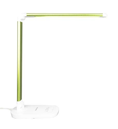 Lámpara Escritorio LED Aluminio Plegable 8W Control