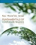 Fundamentals of Corporate Finance by R.W. Westerfield, and B.D. Jordan S.A. Ross (2012-08-01)