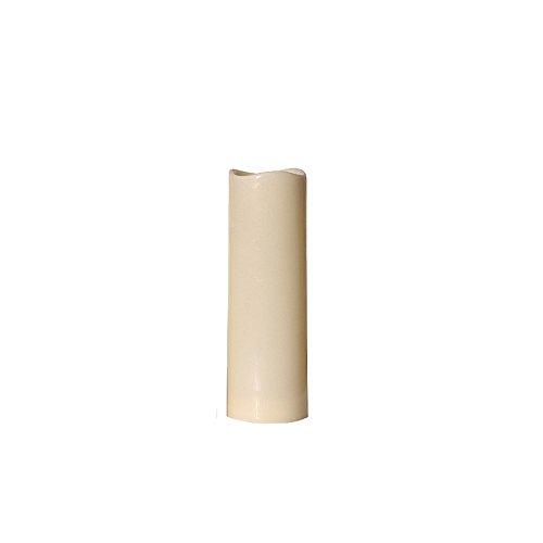 Candela bella onda irregolare Bocca LED simulazione plastica elettronica candela decorazione romantica matrimonio compleanno bar luce candela diverse dimensioni (Dimensione : Height 23CM)